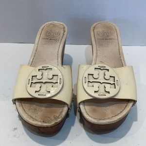 Tory Burch Wedges Cream  Size 5.5